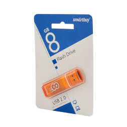 8 GB Smart Buy Glossy Series Orange USB