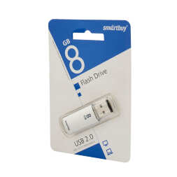 8 GB Smart Buy V-Cut Silver